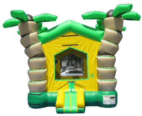 Commercial Bounce House - 3D Tropical Bouncer - The Bounce House Store