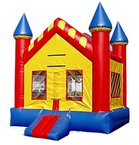 Commercial Bounce House - Primary Castle Jumper - The Bounce House Store