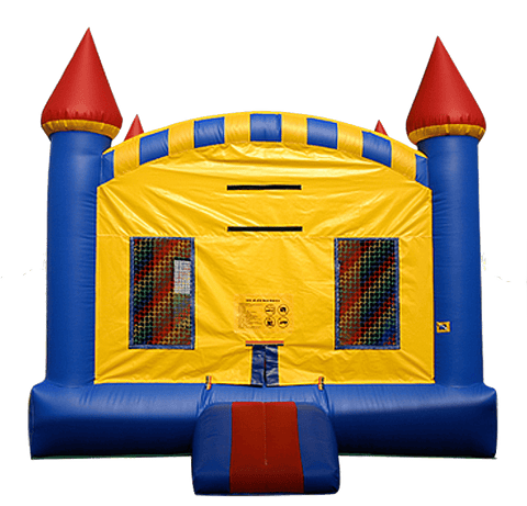 Commercial Bounce House - EZ Inflatables Castle Jumper - The Bounce House Store