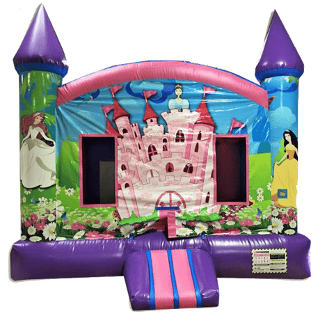 Commercial Bounce House - Digital Princess Jumper - The Bounce House Store