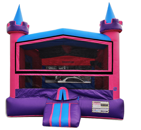 Commercial Bounce House - Lucky Princess Commercial Jumper - The Bounce House Store
