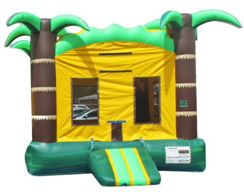 Commercial Bounce House - Tropical Rush Jumper - The Bounce House Store