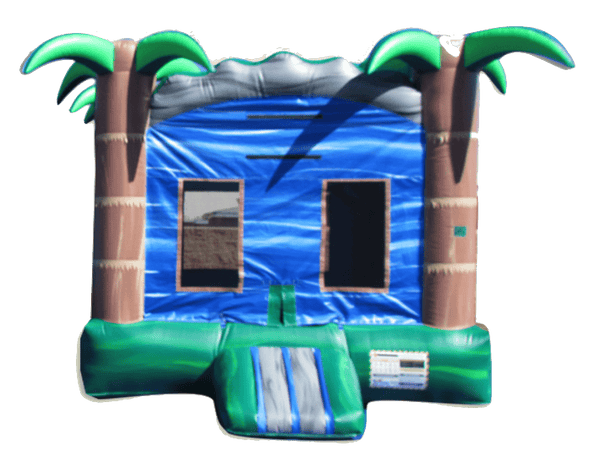 Commercial Bounce House - Tropical Blue Crush™ Jumper - The Bounce House Store