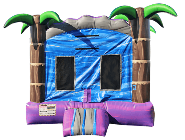 Commercial Bounce House - Tropical Purple Crush™ Jumper - The Bounce House Store