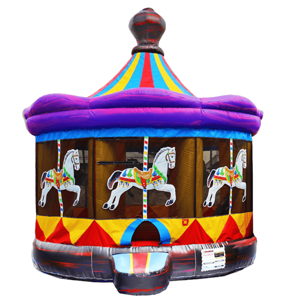 Commercial Bounce House - Carousel Commercial Jumper - The Bounce House Store