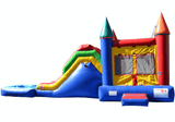 Commercial Bounce House - 5 in 1 Super Combo Castle With Pool - The Bounce House Store