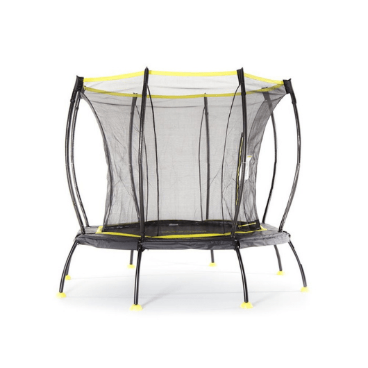 SkyBound Atmos 8FT Octagonal Trampoline with Safety Net - Black