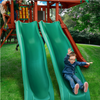 Image of Boy on Gorilla Dual Alpine Wave Slide