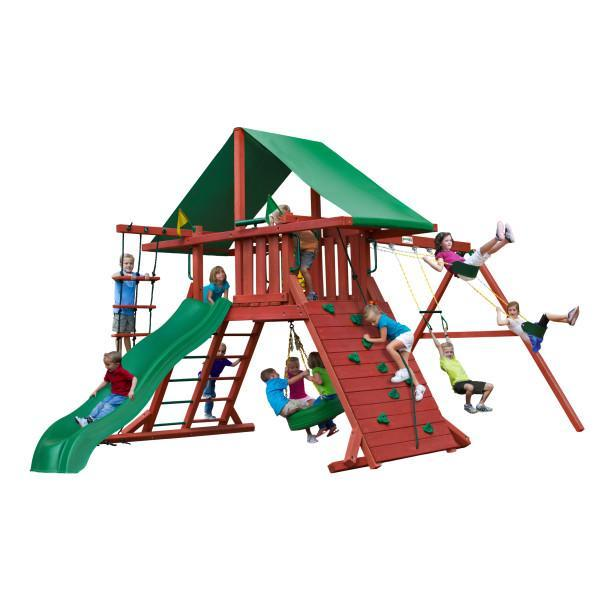 Gorilla Playsets Sun Valley Wooden Swing Set
