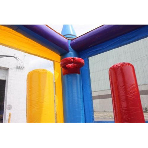 Commercial Bounce House - Crayon Module Commercial Grade Bounce House - The Bounce House Store
