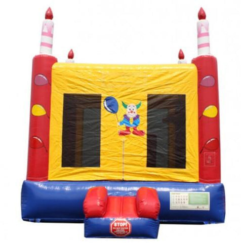 Birthday Module Commercial Bounce House