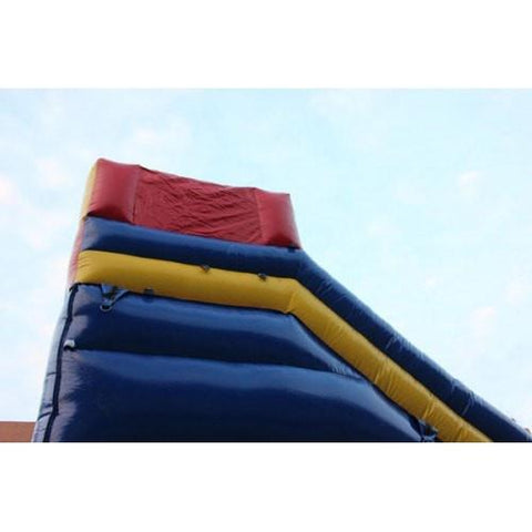 Inflatable Slide - 20'H Dual Lane Inflatable Wet/Dry Slide With Pool - The Bounce House Store