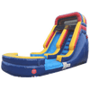 Image of Inflatable Slide - 14'H Rainbow Inflatable Slide Wet/Dry - The Outdoor Play Store