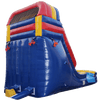 Image of Inflatable Slide - 14'H Rainbow Inflatable Slide Wet/Dry - The Bounce House Store