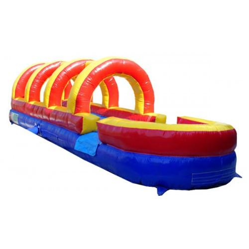 Rainbow Inflatable Slip N Slide