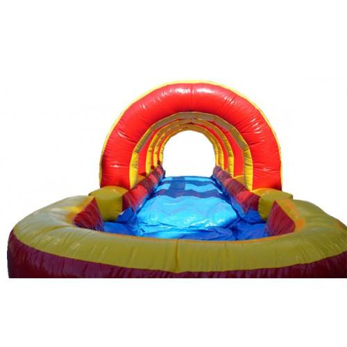 Moonwalk USA Rainbow Inflatable Slip N Slide