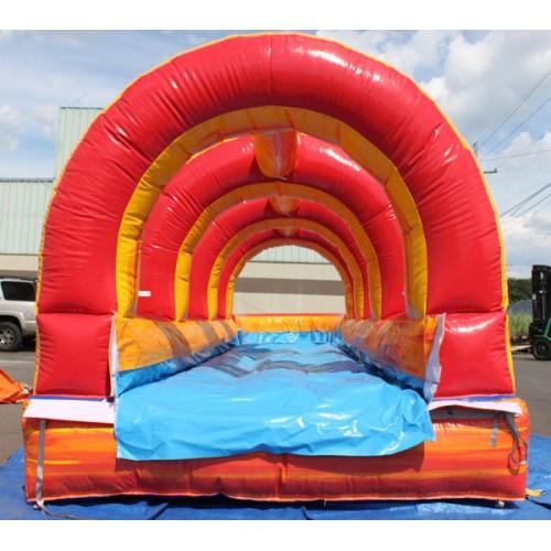 Moonwalk USA Volcano Inflatable Slip N Slide with Pool