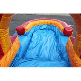 Volcano Inflatable Slip N Slide with Pool from Moonwalk USA