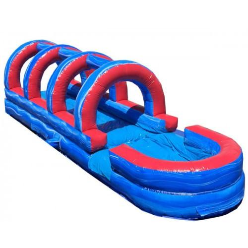 Tsunami Inflatable Slip N Slide with Pool