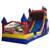 Commercial Bounce House - 18'H Castle Module Inflatable Slide Wet/Dry - The Bounce House Store
