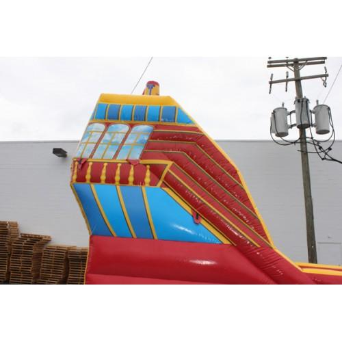 18'H Pirate Inflatable Water Slide Wet n Dry