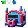 Image of Commercial Bounce House - 14' Pink Princess Commercial Bounce House - The Outdoor Play Store