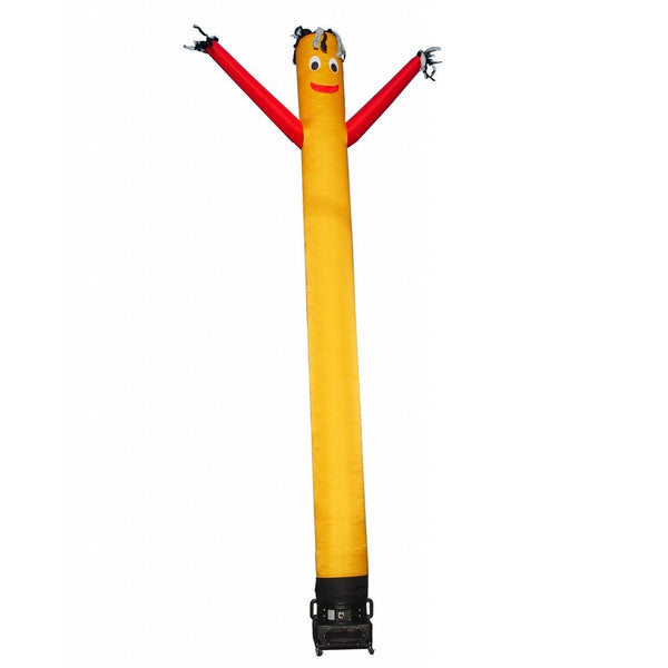 Air Dancer - LookOurWay Yellow with Red Arms AirDancer® 20ft - The Bounce House Store
