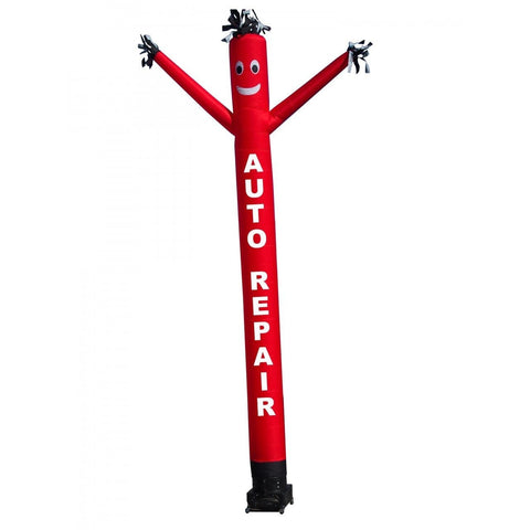 Air Dancer - LookOurWay Auto Repair Red AirDancer® 20ft - The Bounce House Store