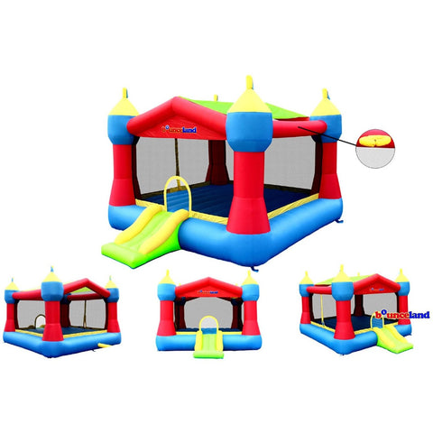 Residential Bounce House - Bounceland Party Bounce House Castle Theme - The Bounce House Store