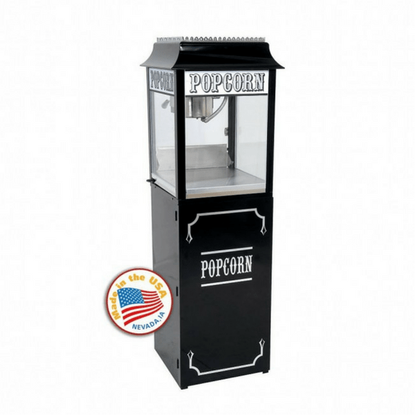 Popcorn Machine - 1911 Originals Popcorn Machine - Black - The Bounce House Store