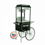 black-popcorn-machine-on-cart
