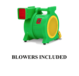 Green Air Blower for obstacle course