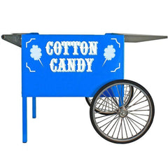 Carts & Stands - Blue Deep Well Cotton Candy Cart - The Bounce House Store
