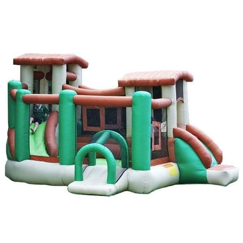 Residential Bounce House - Kidwise Outdoors Clubhouse Climber Bounce House - The Bounce House Store