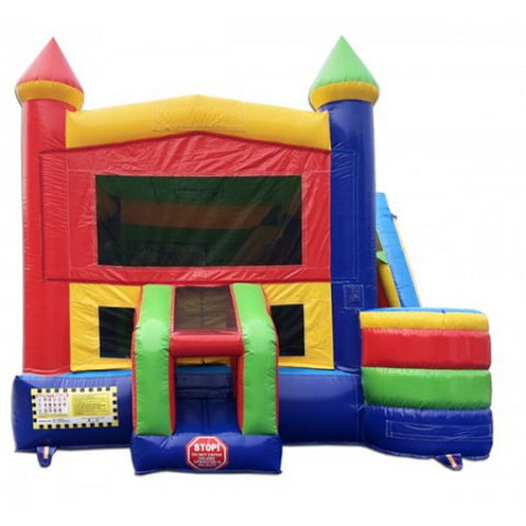 commercial bouncer slide combo 4 in 1