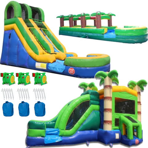 commercial bounce house package bundle