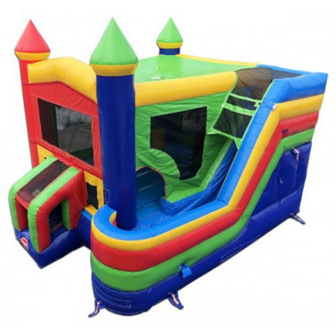 commercial bounce house 4 in 1 combo