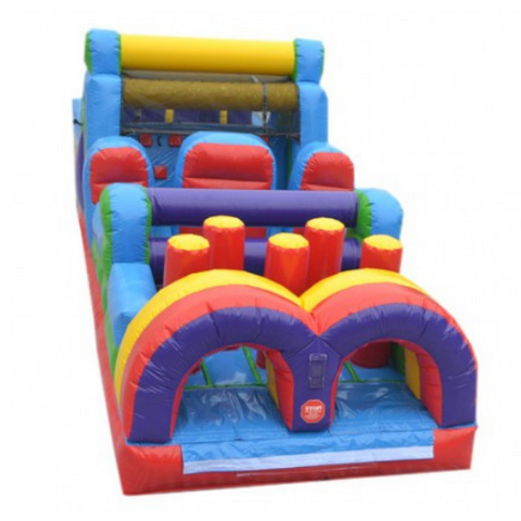 Obstacle Course - Inflatable Obstacle Course 40'L - The Bounce House Store