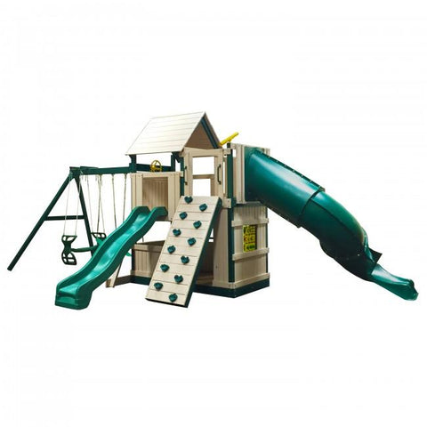 Congo Explorer Tree House Climber Swing Set