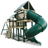 Image of congo monkey swing set package #3 with turbo slide