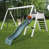 Image of congo swing'n monkey 3 position swing set