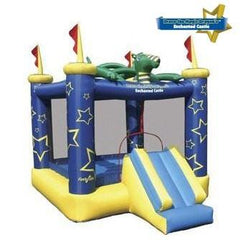 Residential Bounce House - Kidwise Draco The Magic Dragon Jumping Castle Bounce House - The Bounce House Store