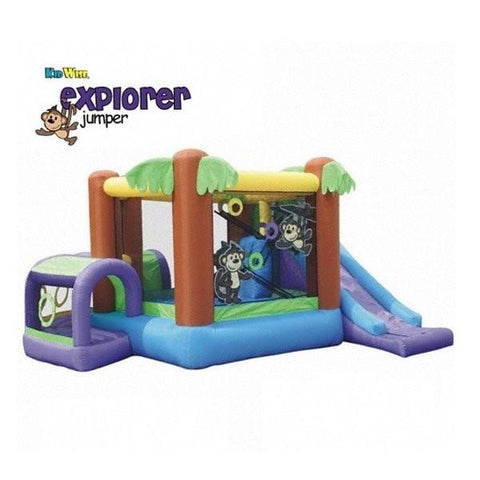 KidWise Monkey Explorer Bounce House