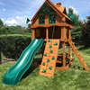 Image of Gorilla Chateau Tower Wooden Playset