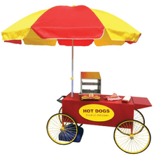 Image of Hot Dog Cart