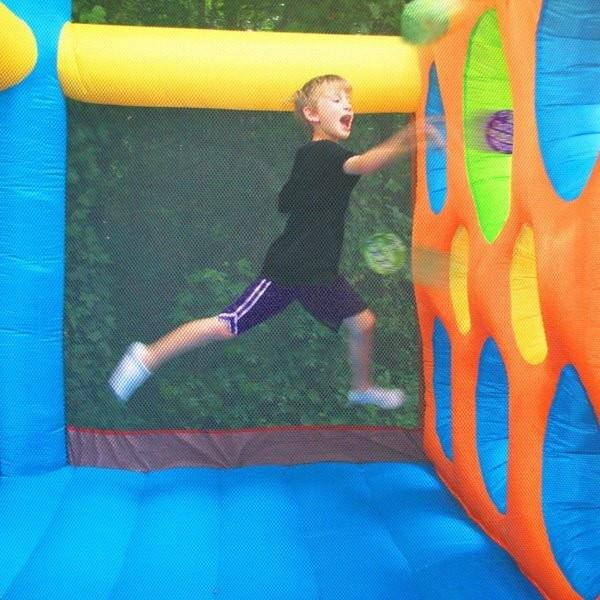 Residential Bounce House - Kidwise Jump'n Dodgeball Bounce House - The Bounce House Store
