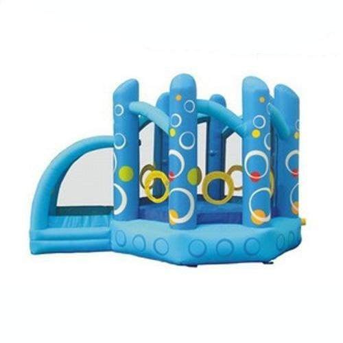 Residential Bounce House - Kidwise Kaleida Disco Jumper With Ball Pit - The Bounce House Store