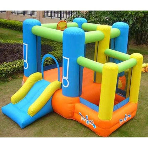 Residential Bounce House - Kidwise Little Star Bounce House With Ball Pit - The Bounce House Store