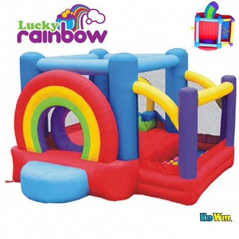 Kidwise Lucky Rainbow Bounce House
