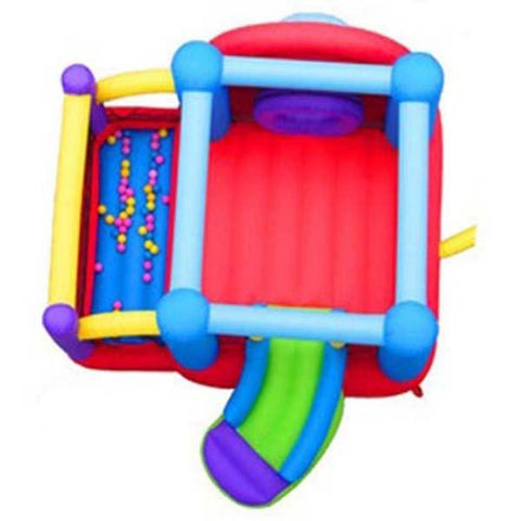Residential Bounce House - Kidwise Lucky Rainbow Bounce House - The Bounce House Store